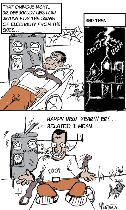 Happy New Year 2009 by Narasimha Vedala